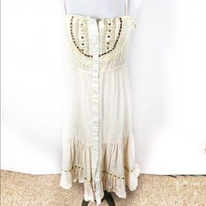 Anthropologie- Neslay Prarie dress with beading.